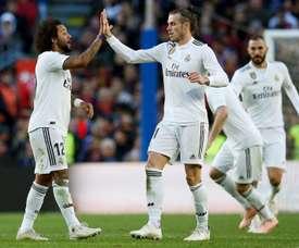 Marcelo parle de sa relation avec Bale. AFP