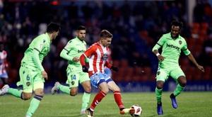 El Levante sacó un empate de Lugo. EFE