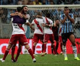 Un penalty et une finale. EFE