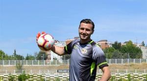 Dimitrievski espera aprovechar la oportunidad. EFE