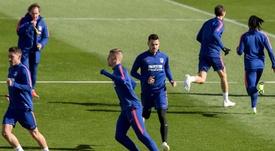 El Atlético ganó por la mínima al Sant Andreu. EFE