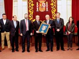 Melilla se volcó con el Madrid. EFE