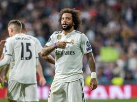 Marcelo said that his players at Madrid were not 'calm'. EFE
