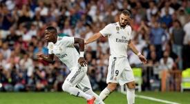 Cafú cree que, con trabajo, Vinicius podría ser el nuevo Cristiano del Madrid. EFE