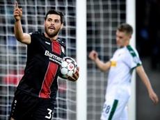 El Bayer Leverkusen ha goleado al 'Gladbach en la DFB Pokal. EFE