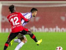 Daniele Verde sentenció el partido en Mallorca. EFE