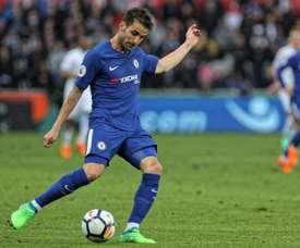 Fábregas dio la victoria al Chelsea ante el Derby County. EFE/Archivo