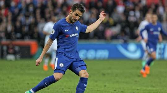 Fabregas is one of the players being targeted by Gazidis. EFE/EPA