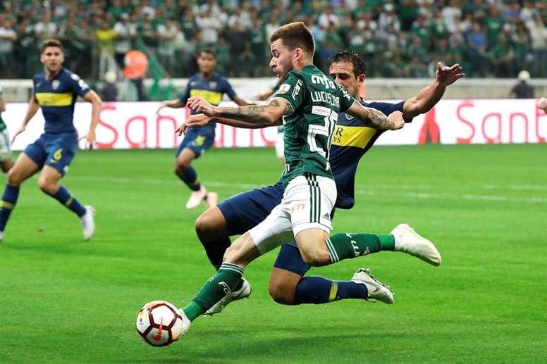 Lucas Lima ganha prestígio com Luxemburgo. EFE