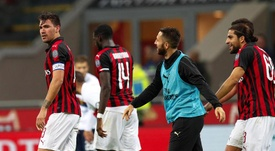 Romagnoli acredita que é o momento de deixar o Milan. EFE