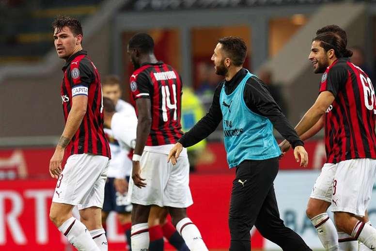 Romagnoli cree que es el momento de dejar Milán. EFE