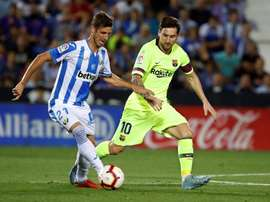 Leganes will want a repeat of their last performance against Barcelona, which they won 2-1. EFE