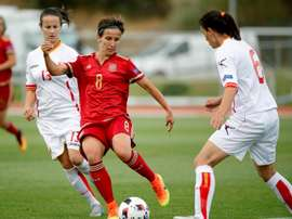 Sonia es un referente del fútbol femenino español. EFE