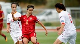 Sonia Bermúdez no se conformaría con un empate ante el Atleti. EFE