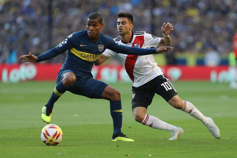 Pin Boca y River se jugarán la Libertadores a doble partido. EFE 7b731d36b5db9
