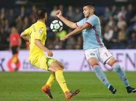 Maxi Gomez told West Ham he wants to go to Valencia. EFE/Archivo