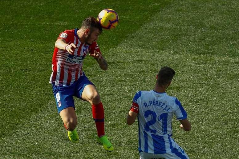 Al Atlético le cuesta fuera de casa. EFE