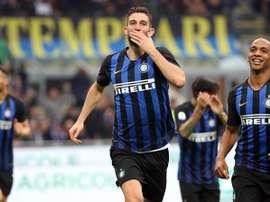 El Inter arrasó al Genoa. EFE