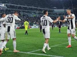 La Juve volvió a ganar. EFE