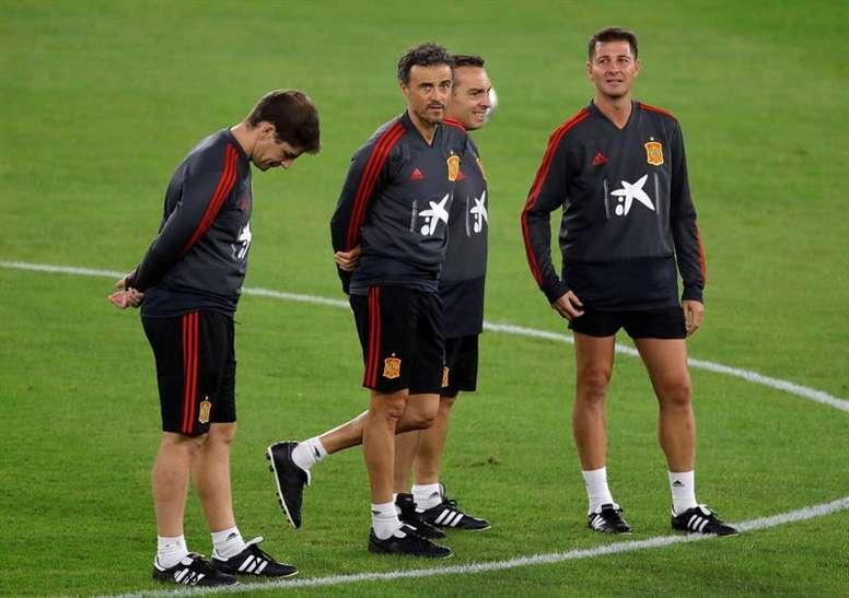 El España-Bosnia se jugará en Gran Canaria. EFE/Archivo