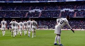 Vinicius aportó frescura al ataque del Madrid. EFE