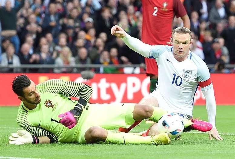 Rooney revient en sélection. EFE