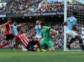 El City arrasó al Southampton. EFE