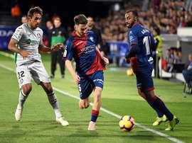 Moi Gómez presumió de la mejoría del equipo. EFE