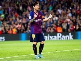 Messi encurtou a diferença. EFE/Archivo
