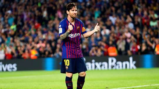 Messi quer marcar ao Real Madrid. EFE