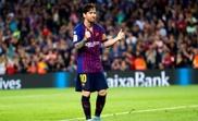 Leo Messi lleva casi 900 minutos menos que la pasada temporada a estas alturas. EFE