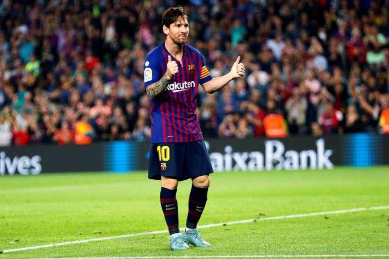 Messi, mejor delantero de 2018. EFE/Archivo