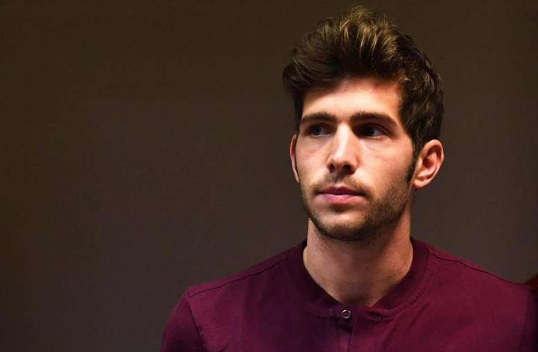 Sergi Roberto admitted Messi is a big miss. EFE