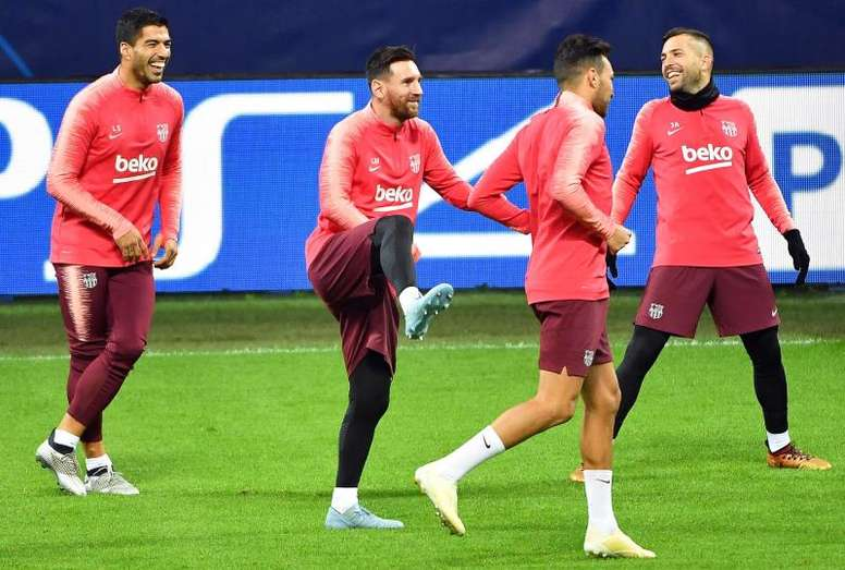 Messi, heureux et souriant. EFE