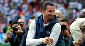 O sueco Zlatan Ibrahimovic. EFE