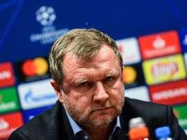 Las palabras de Vrba antes del choque ante el Madrid. EFE