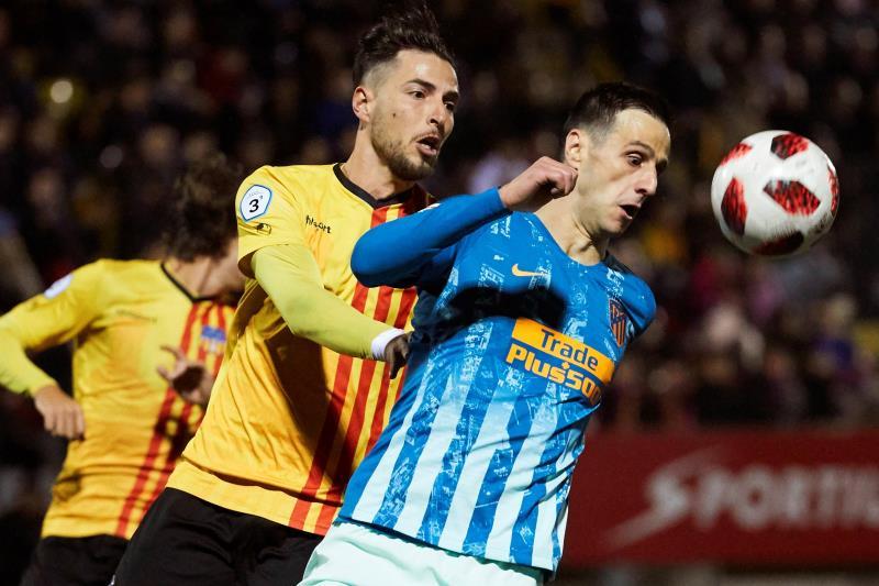 Atlético Madrid - Sant Andreu, por televisión