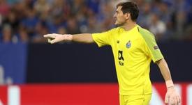 Casillas cree en la remontada. EFE