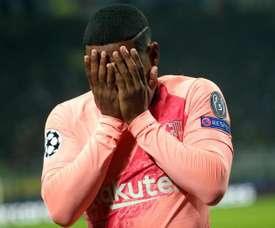 Malcom ne s'est pas imposé au Barça. EFE