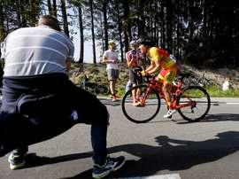 La ciclista Cristina Martínez Bonafe (c). EFE/Archivo