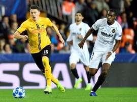 El Valencia sufrió por momentos, pero goleó al Young Boys. EFE