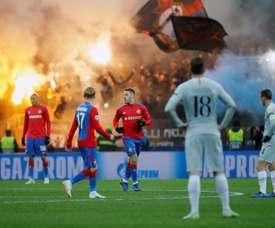 El CSKA venció al Akhmat Grozny 0-2. EFE/Archivo