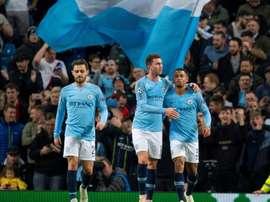 El City le ha dado al Shakhtar su segunda peor noche europea. AFP