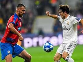 El Real Madrid lleva tres victorias seguidas. EFE