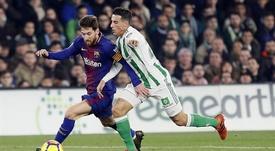 Le Barça-Betis promet. EFE