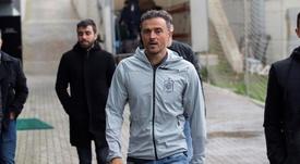 Luis Enrique ya está metido de nuevo en el papel de seleccionador. EFE/Archivo
