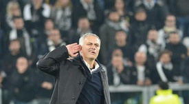 Mourinho's celebrations provoked a reaction from Juventus. EFE
