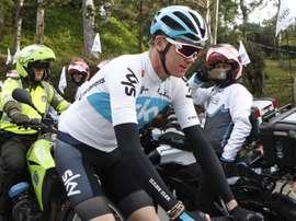 El ciclista británico Chris Froome. EFE/Archivo
