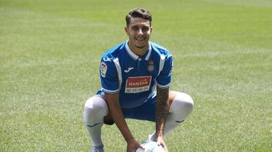 Mario Hermoso demande son transfert. EFE