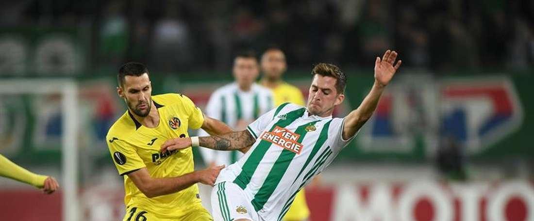 El Rapid es el próximo rival de Villarreal en la Europa League. EFE